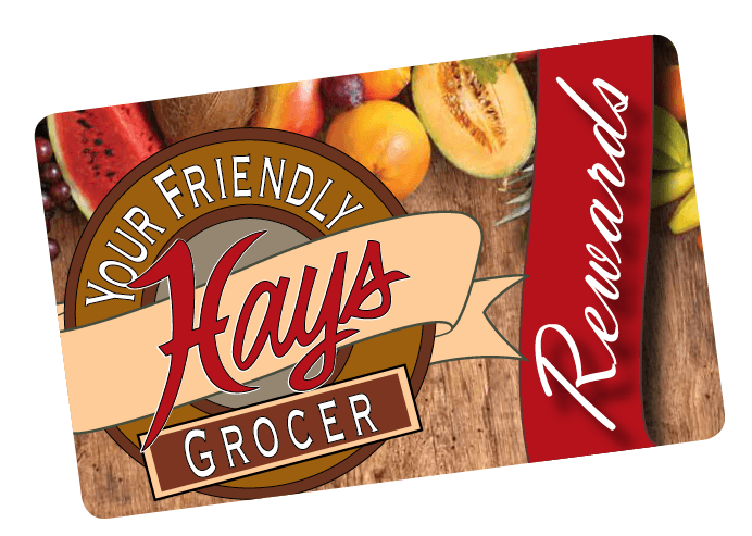 Photo of Hays rewards card