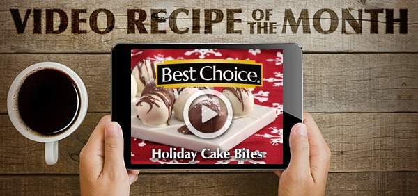 Best Choice Recipe Video: Holiday Cake Bites