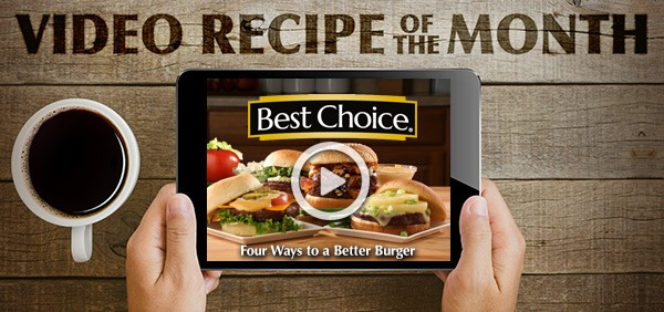 Best Choice Recipe Video: Four Ways to a Better Burger